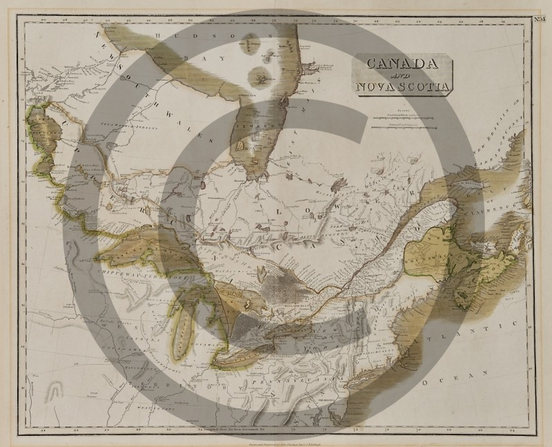 (unknown cartographer) -- Canada and Nova Scotia